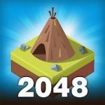 Age of 2048 Civilization City Merge Games mod apk (Every IAP is free) v1.7.2