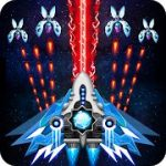 Space shooter Galaxy attack Galaxy shooter mod apk (God mode) v1.505