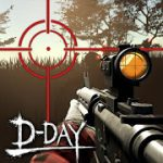 Zombie Hunter D-Day mod apk (Lots of Money/Gold/No Ads) v1.0.816