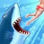 Hungry Shark Evolution Offline survival game mod apk (Unlimited Coins/Gems) v8.5.28