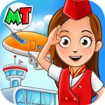 My Town Airport. Free Airplane Games for kids mod apk (Unlocked) v1.01